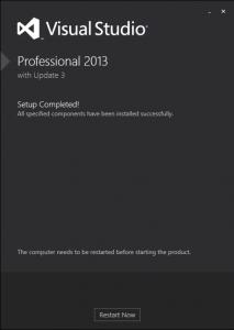 VS 2013 Install