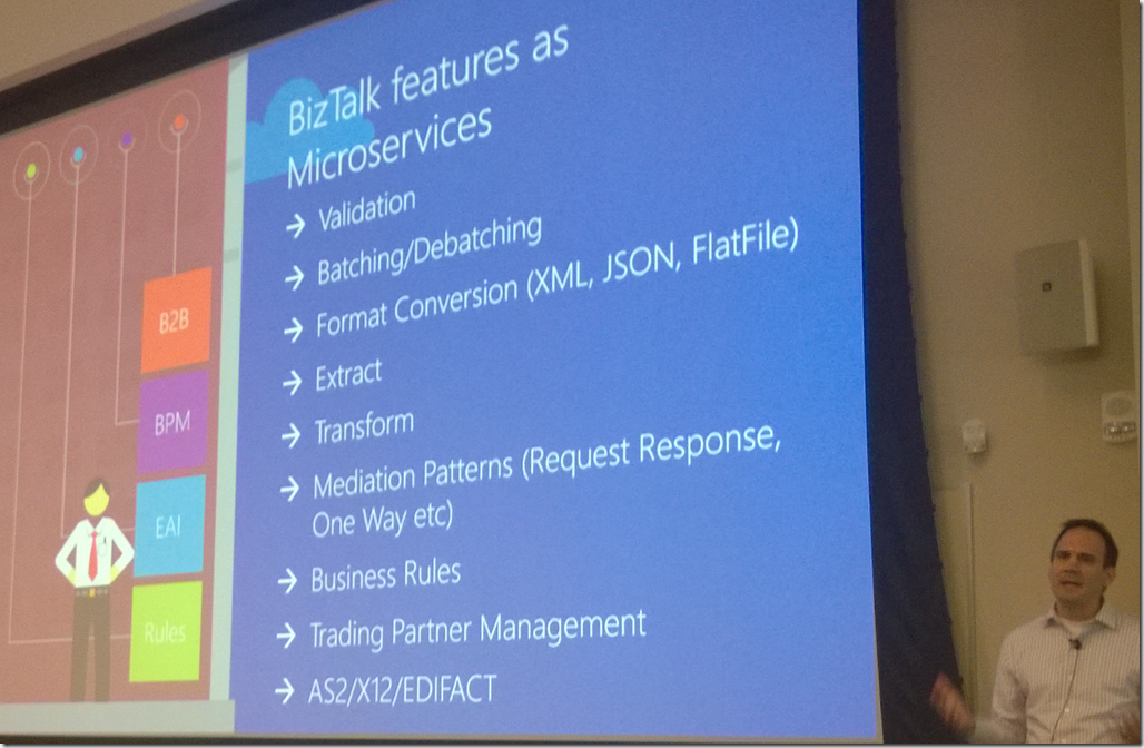 Bill Staples Presents Azure BizTalk Microservices Microservices