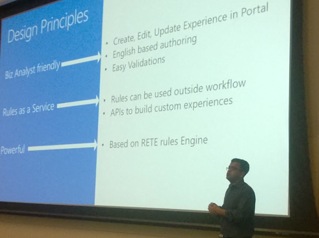 Anurag Dalmia presents the Rules Engine Design Principles
