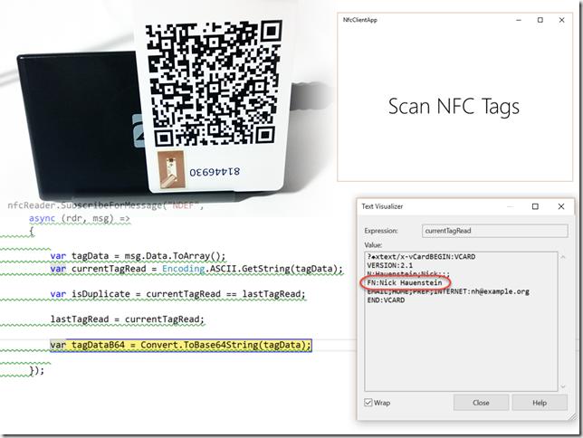 NFC tag read