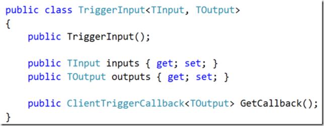 TriggerInput Class