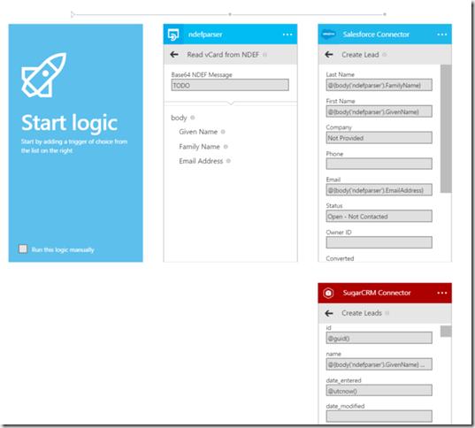 Start of the Logic App