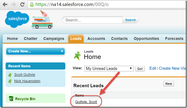 Salesforce Results