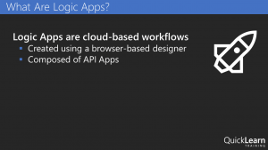 What are Logic Apps?