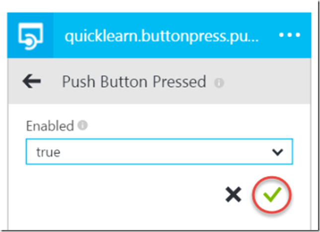 Push Trigger Configuration