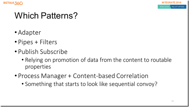 Which Patterns (slide)